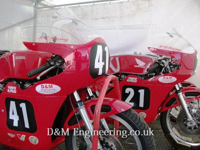 d&m engerneering prepared race bikes